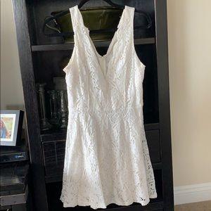 ANGL White Laced Dress